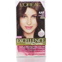 L Oreal Paris Excellence Creme Triple Protection Hair Color Dark Chocolate Brown G15
