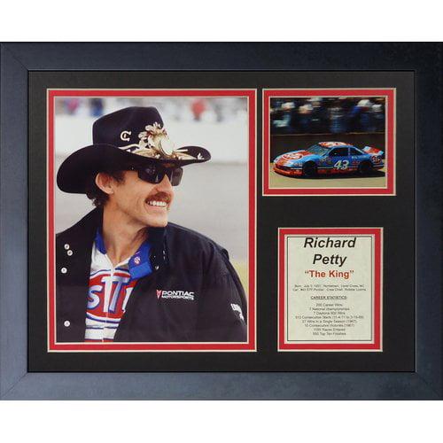 Legends Never Die Richard Petty Framed Memorabilia by