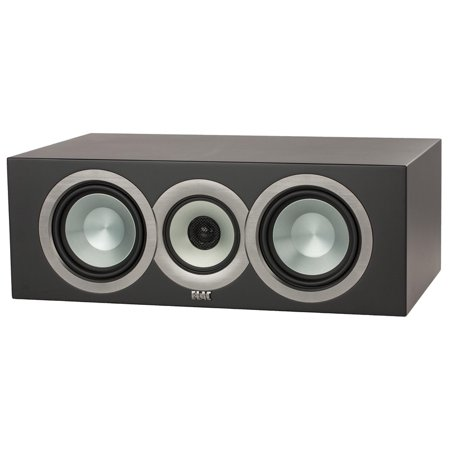 Elac Uni-Fi CC U5 Slim 3-Way Bass Reflex Center Channel Speaker (Single)