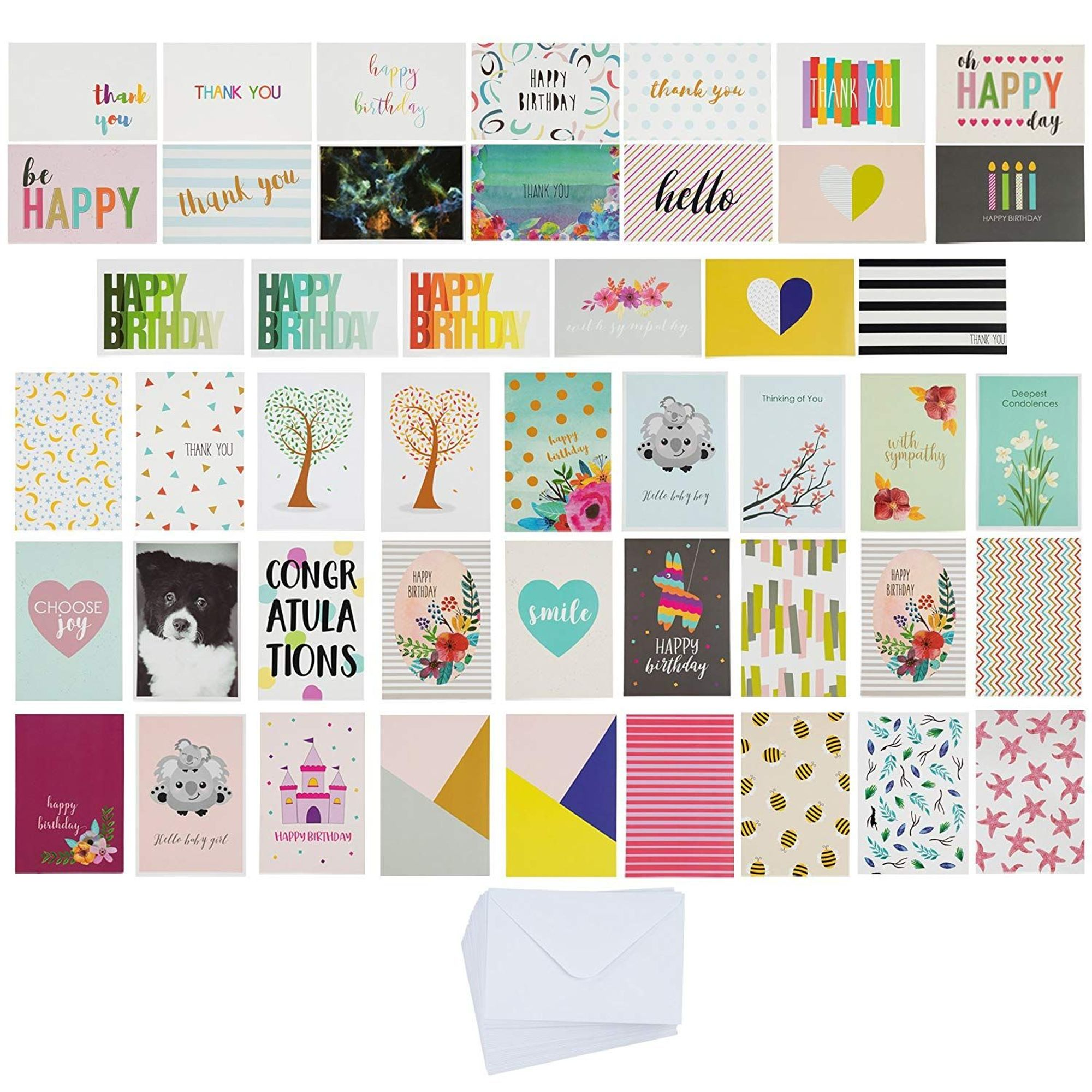 144count assorted greeting cards all occasion assortment
