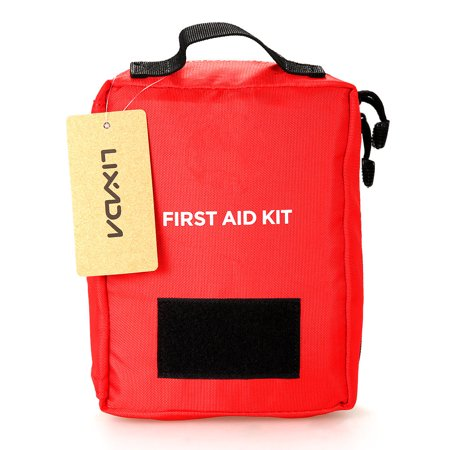 Lixada First Aid Kit Empty Bag Travel Emergency Survival Pouch Medical Storage Bag Case Medicine Package Pack (Best Survival Medical Kit)