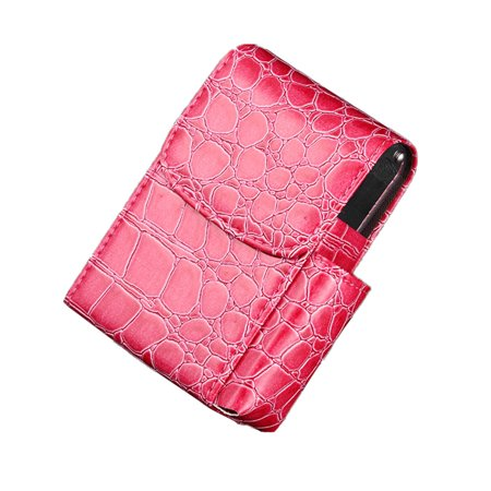 Leather Cigarette Case Flip Top Tobacco Holder Pouch Best Gift for Men Women Hot