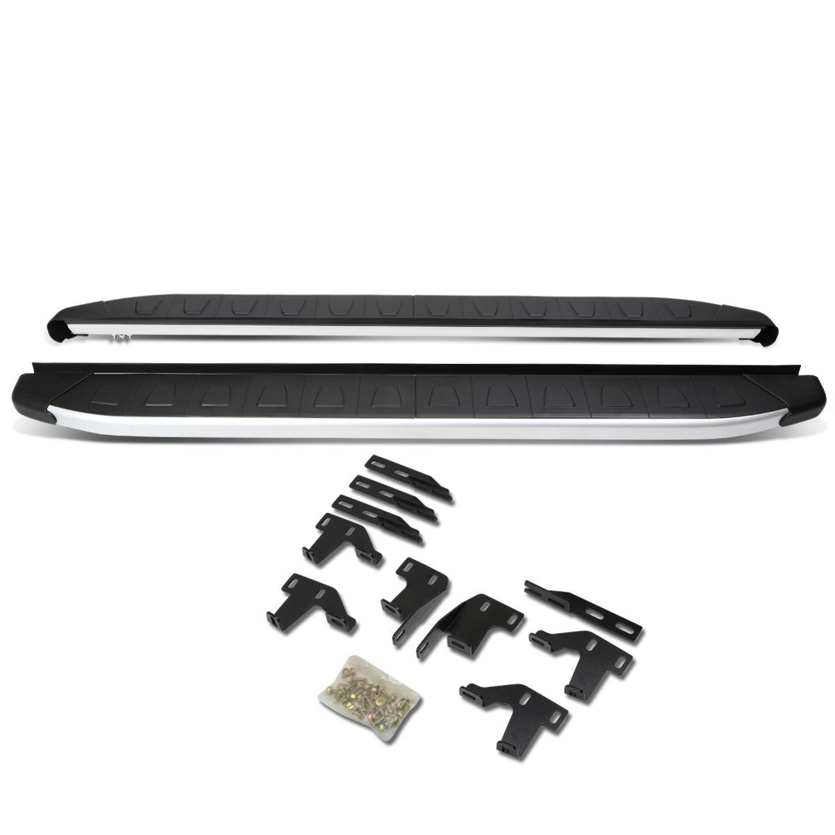 """For 09-15 Honda Pilot YF3/YF4 Pair of 5"""" Aluminum Side Step Nerf Bar Running Board 10 11 12 13 14"""