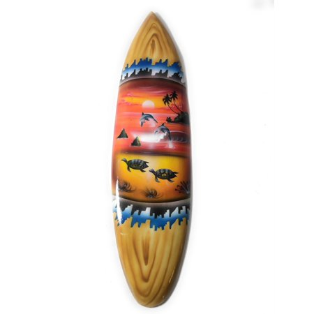 Playroom Trophies (Surfboard w/ Island Sunset 20