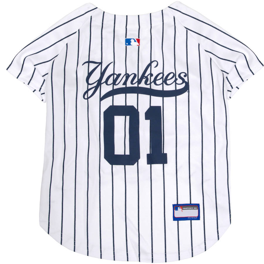 Pets First MLB New York Yankees Dog Jersey, XX Large