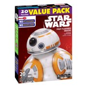 Betty Crocker Star Wars Snacks Fruit Flavored Snacks Pouches, 0.8 Oz., 20 Count