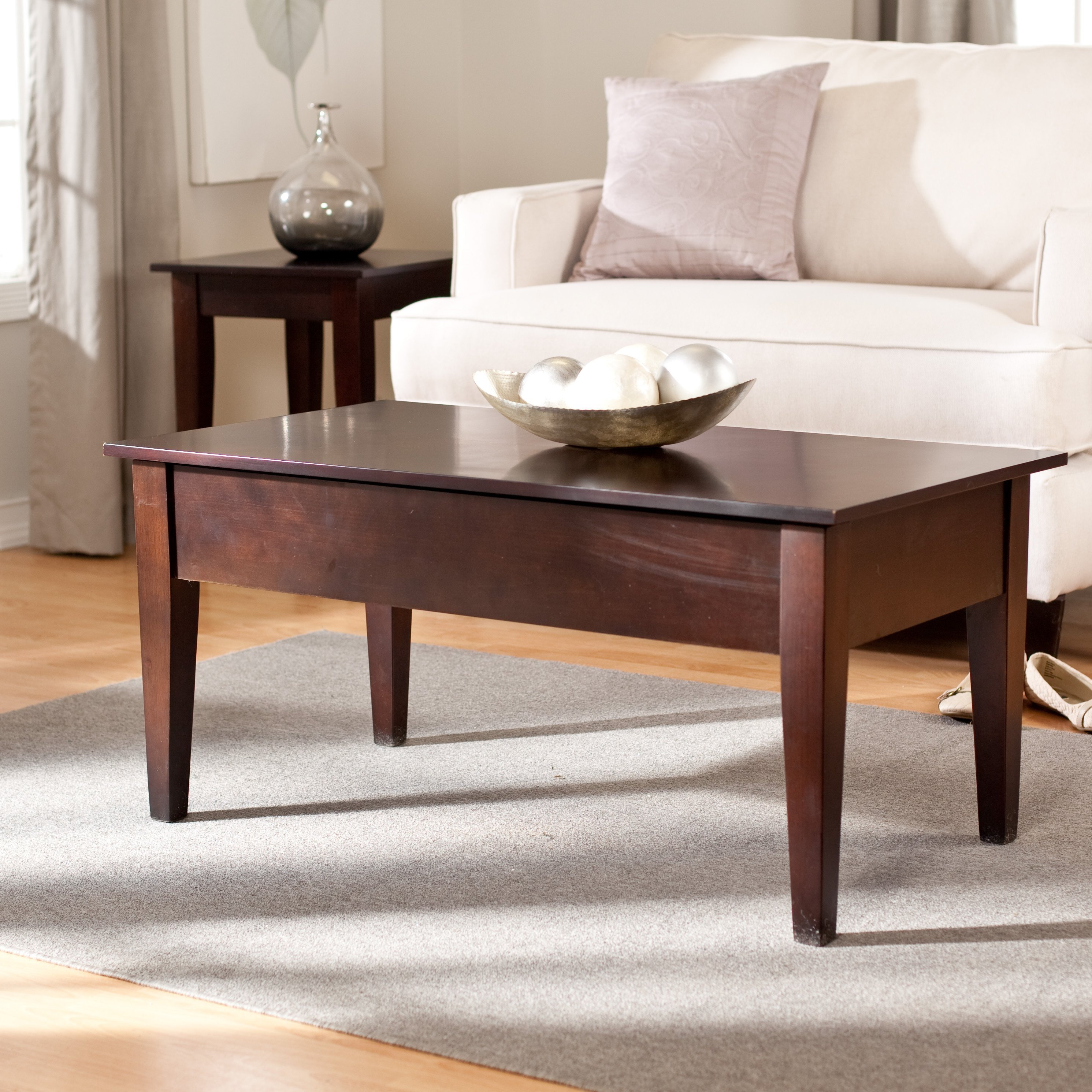 Turner Lift-Top Occasional Table Collection - Espresso