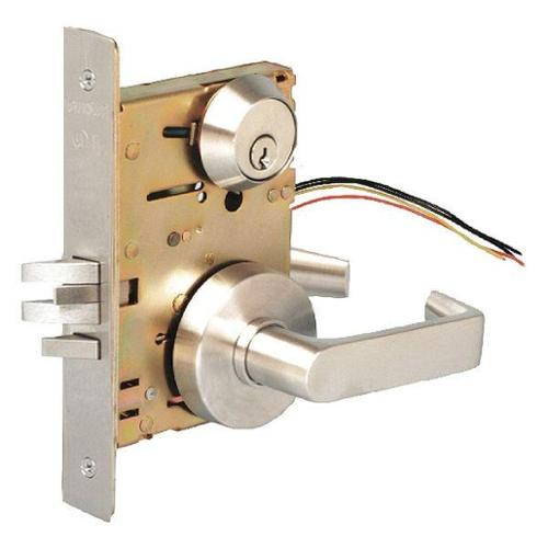 TOWNSTEEL MSS-241-S-RQE-626 Mortise Lockset,Single Cylinder Functns G1580796