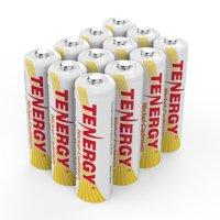 Combo: 12 Tenergy AA NiCd Rechargeable Batteries for Solar/Garden Lights