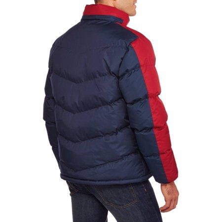 Climate Concepts Men's Polar Fleece Lined Bubble Jacket