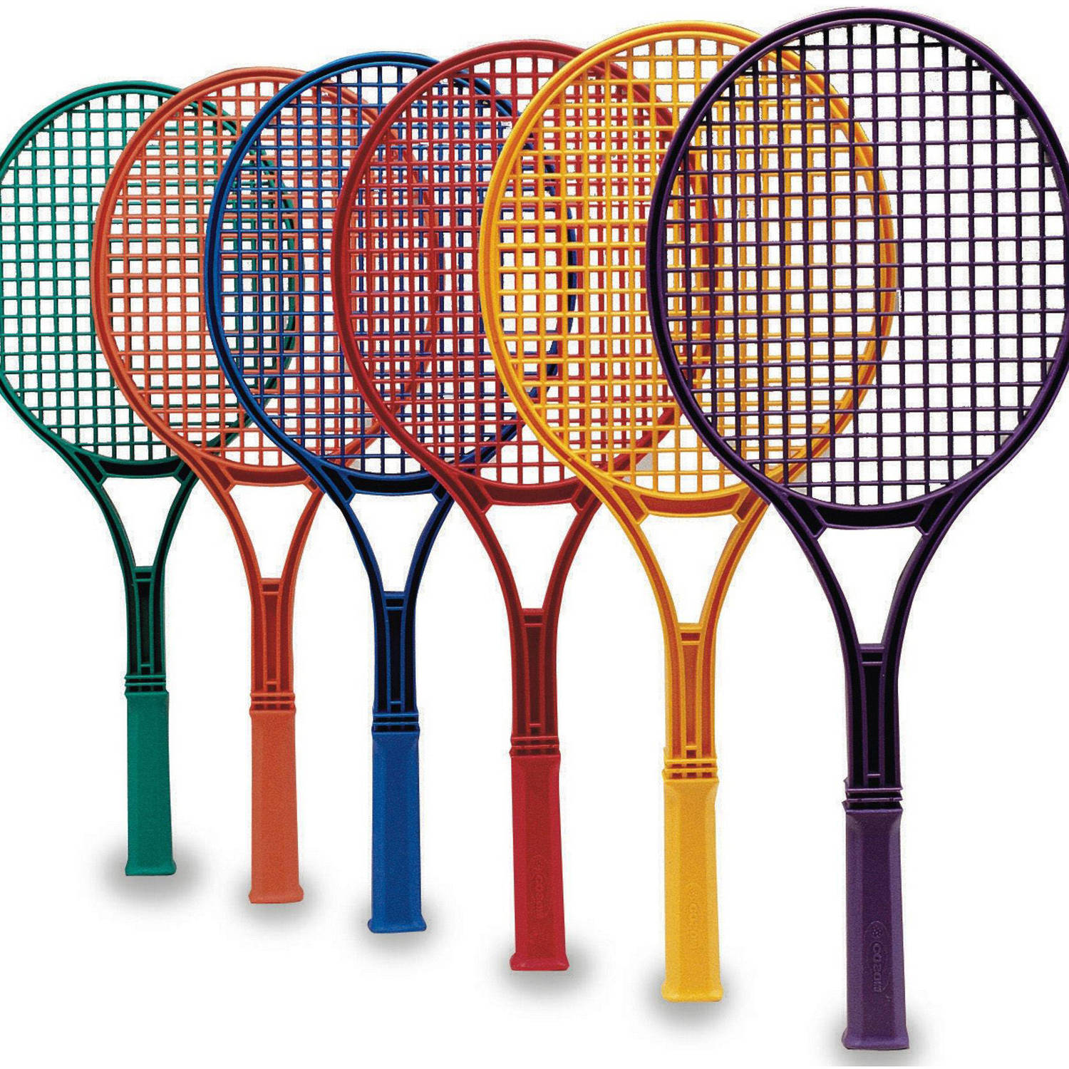 S&S Worldwide Spectrum Jr. Tennis Racquets, Set of 6 by S&S Worldwide
