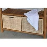 Anderson Teak WIC-4720 Wicker Basket For Towel Console