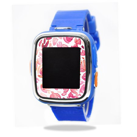 Mightyskins Protective Vinyl Skin Decal For Vtech Kidizoom Smartwatch Dx Wrap Cover Sticker Skins Pink Petals