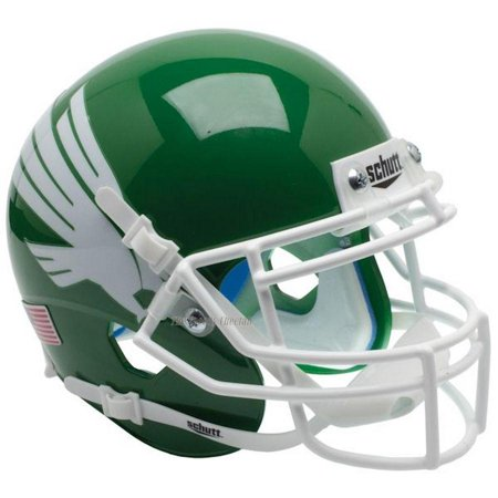 North Texas Football - Schutt Replica North Texas Mean Green Eagle XP Football Helmet