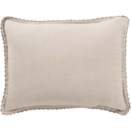 Evelyn Naturals (Surya Evelyn Woven Linen King Sham in Natural )