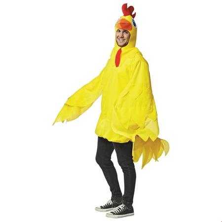 Halloween Costume Chicken (Yellow Chicken Adult Halloween)