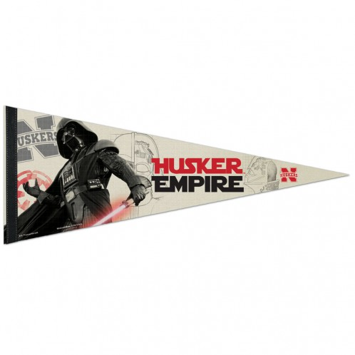 Nebraska Cornhuskers Premium Pennant - Star Wars - Darth Vader