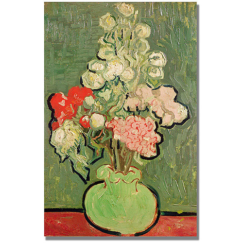"Trademark Fine Art ""Bouquet of Flowers"" Canvas Art by Vincent van Gogh"