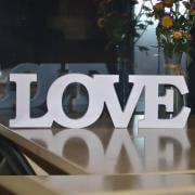 Love Shopper - Jeobest 1PC Wooden Letter - Wooden Wedding Decorations Letter - Hot Wedding Room Party Letter Decoration LOVE L O V E Sign White Wooden Decor MZ