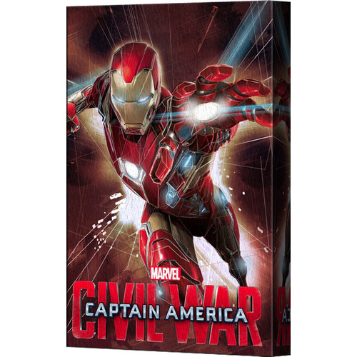 Pyramid America Captain America: Civil War Iron Man Canvas Wall D cor
