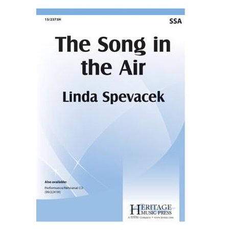 The Song in the Air-Ed Octavo - SSA,a cappella - P/A CD - Linda Spevacek - Sheet Music - - Halloween Theme Song Music Sheet