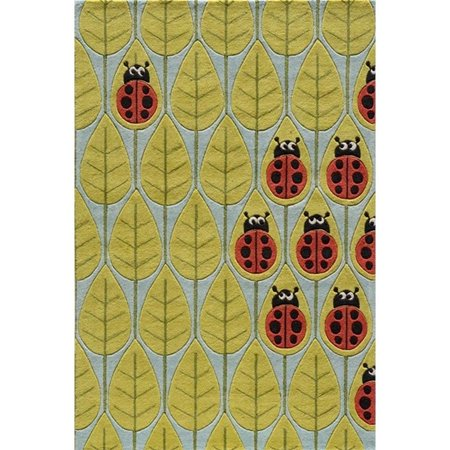 Momeni Lil Mo Whimsy 4' X 6' Rug in Lady Bug Red - image 1 of 2
