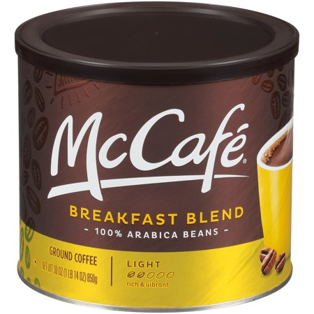 McCafe Light Roast Breakfast Blend Ground Coffee, Caffeinated, 30 oz - Millstone Breakfast Blend Coffee