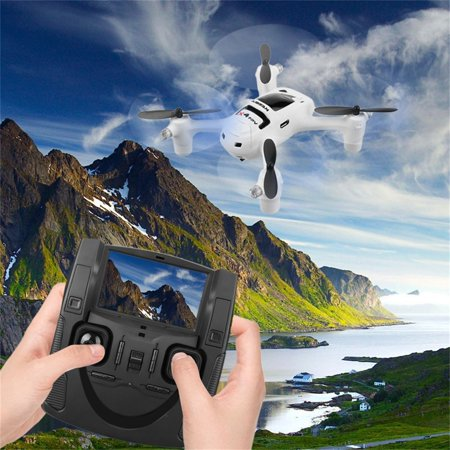 White Hubsan FPV X4 Plus H107D+ With 720P 2MP Wide Angle HD Camera Altitude Hold Mode RC Quadcopter RTF Hubsan X4 H107D