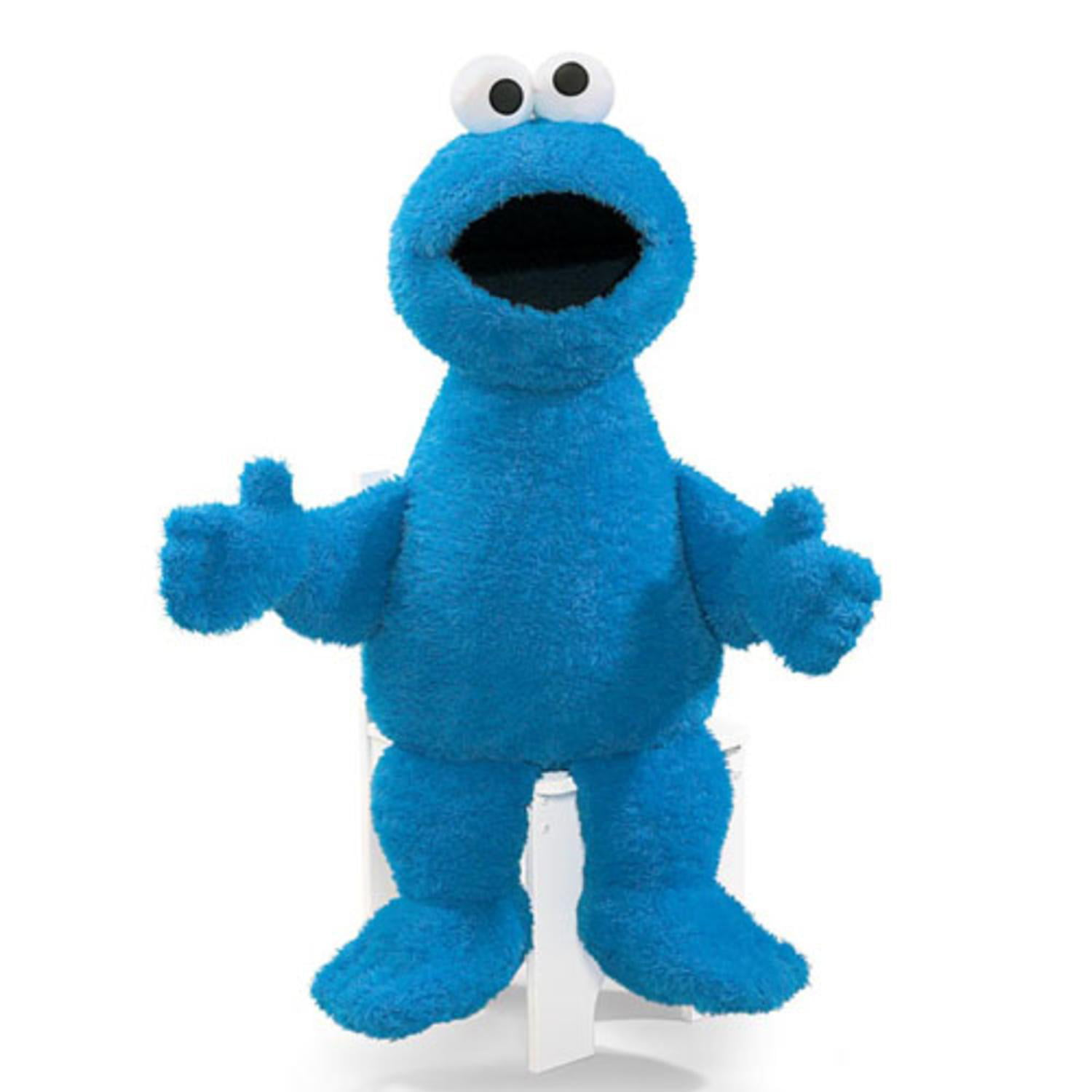 """37"""" Oversized Sesame Street Soft and Silky Plush Cookie Monster Doll by Gund"""