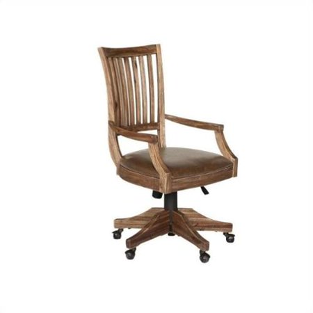 Magnussen H2596 Adler Desk Office Chair with Upholstered Seat