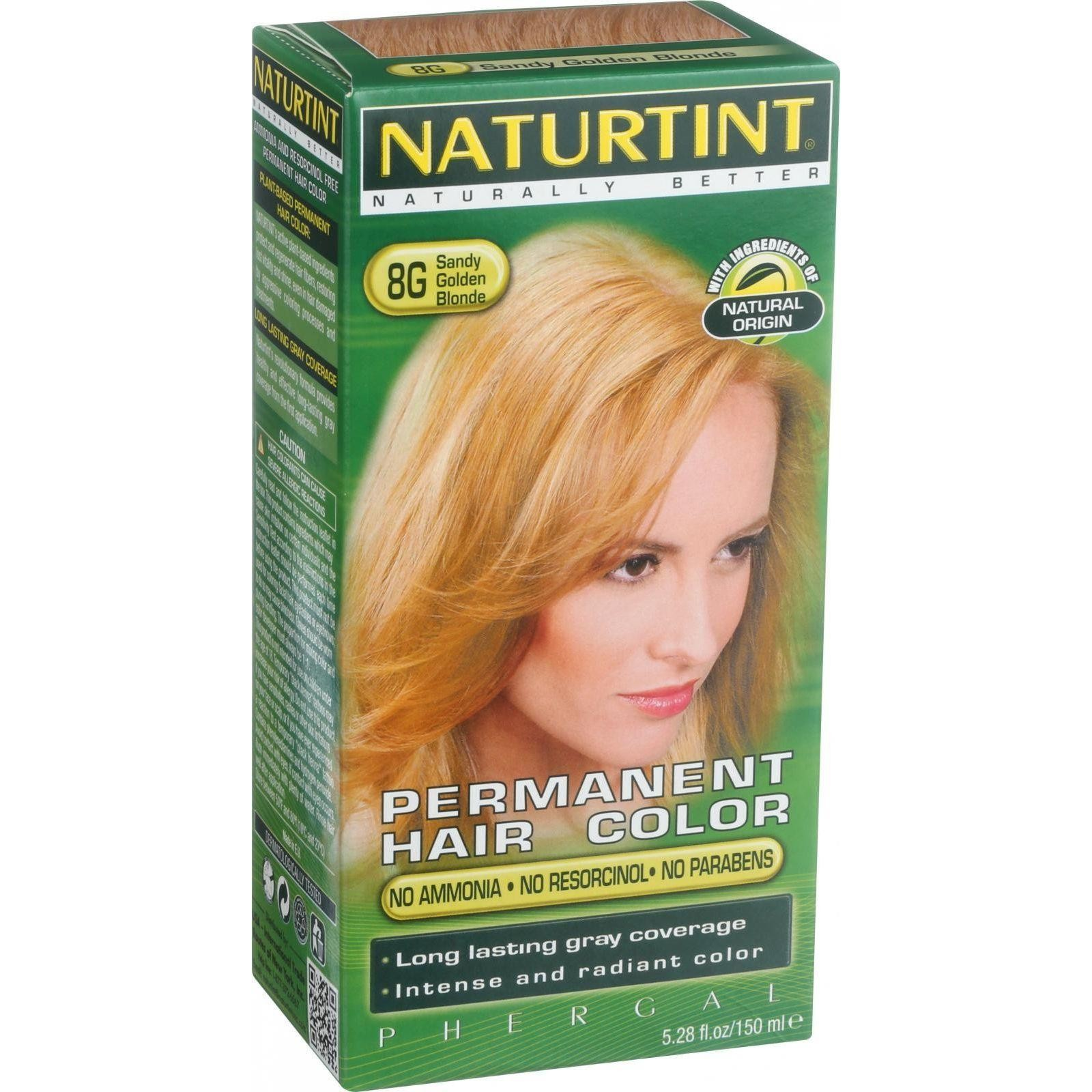 Naturtint Hair Color Permanent 8g Sandy Golden Blonde 528 Oz