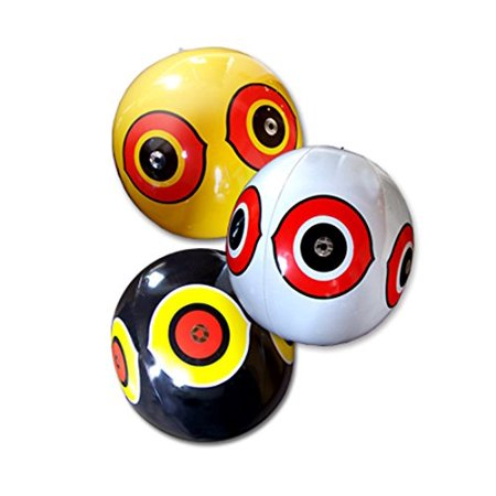 Off White Pocket - Bird-X Scare Eye Balloons - 3 Pack
