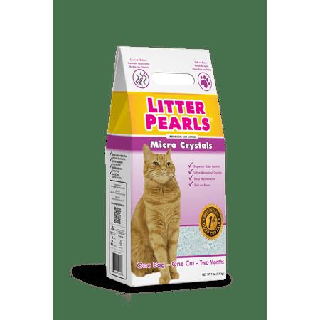 Litter Pearls Micro Crystals Cat Litter, 10.5-lb bag ()