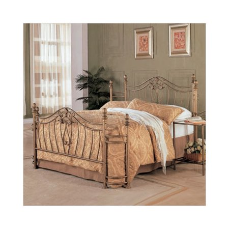 Wildon Home Merced Queen Bed In Brush Gold