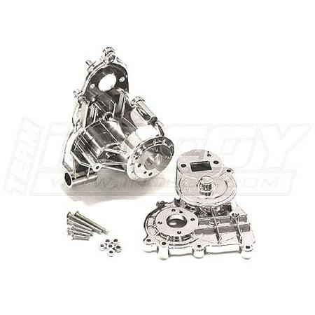 Integy RC Toy Model Hop-ups C22700SILVER Alloy Gear Box Housing for Rock