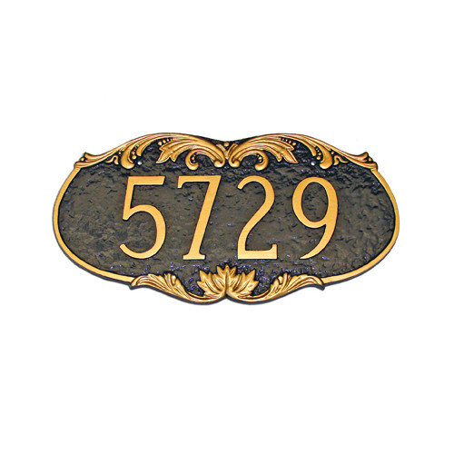 Montague Metal Products Inc. Charleston Address Plaque