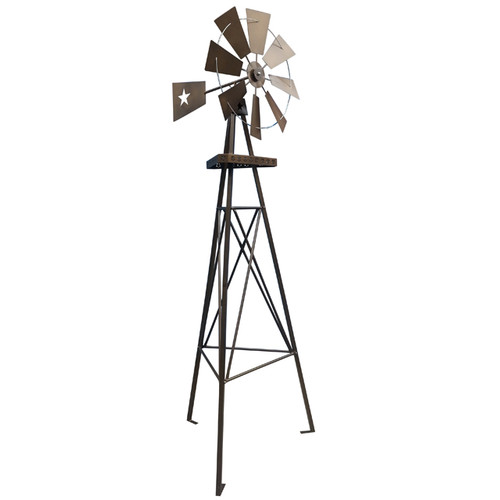 Leigh Country 9 Ft Tripod Star Windmill by United General Supply Co., Inc.