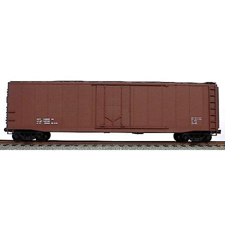 HO Data Only Mineral Red 50' AAR Plug Door Riveted Boxcar - Ho 50' Aar Plug Door
