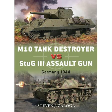 M10 Tank Destroyer vs StuG III Assault Gun : Germany (German Assault Gun)