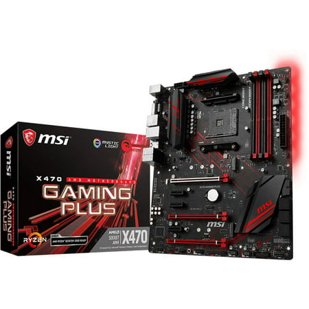 MSI Motherboard X470 GAMING PLUS - X470GPLUS
