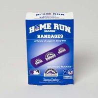 BANDAGES 20CT BOX HOME RUN BRANDS -COLORADO ROCKIES, Case Pack of 72