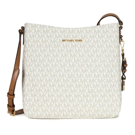 dc6488fcc4 BRAND NEW MICHAEL KORS SIGNATURE JET SET LARGE VANILLA MESSENGER CROSSBODY  BAG - Walmart.com