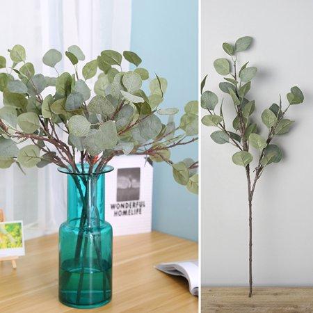 Directer 1Pc Artificial Eucalyptus Greenery Wedding Decor Plant DIY Bridal Bouquet Wreath - Diy Halloween Wreath