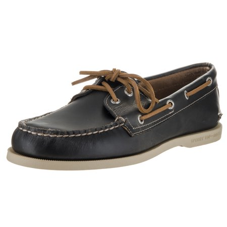 Sperry Top-Sider Men's A/O Waterloo Boat Shoe (Sperry Top Sider Plaid Washed Canvas Boat Shoe)
