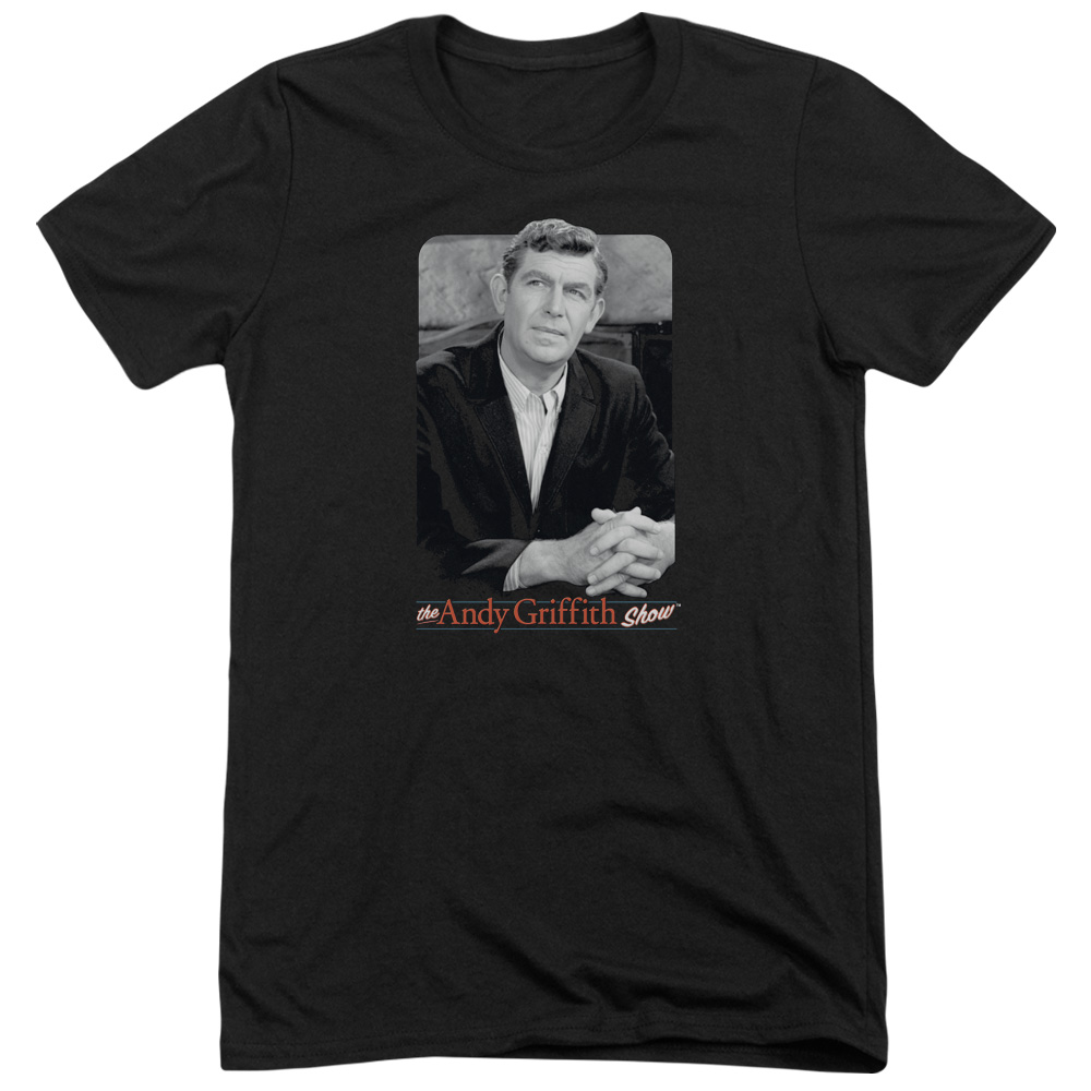 Andy Griffith Classic Andy Mens Tri-Blend Short Sleeve Shirt