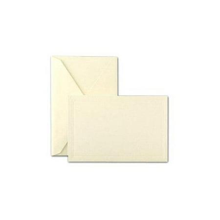 Crane & Co Correspondence Envelopes (Crane & Co. Ecruwhite Triple Debossed Panel Cards And Envelopes)