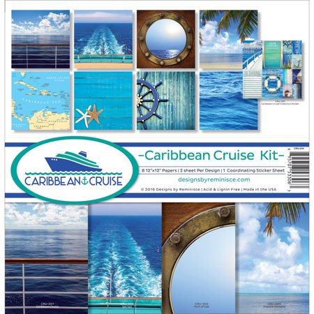 Reminisce Collection Kit 12 X12  Caribbean Cruise