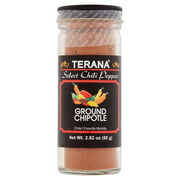 (2 Pack) Terana Select Chili Peppers Ground Chipotle, 2.82 oz