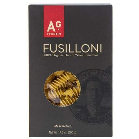 Image of A.G. Ferrari Organic Pasta, Fusilloni, 17.5 Oz