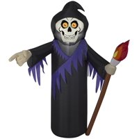 3.5-ft Airblown Reaper Halloween Inflatable Deals